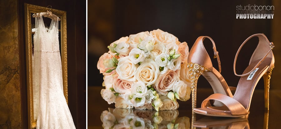 002-beautiful-luxury-gold-bride-shoes-by-miu-miu-wedding-at-four-seasons