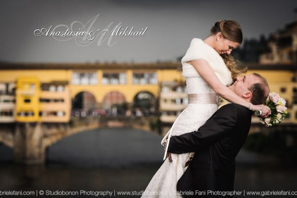 Anastasia & Mikhail's Florence Intimate Destination Wedding