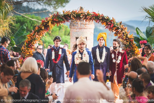 Dream Indian Wedding in Umbria | The amazing story of P and C
