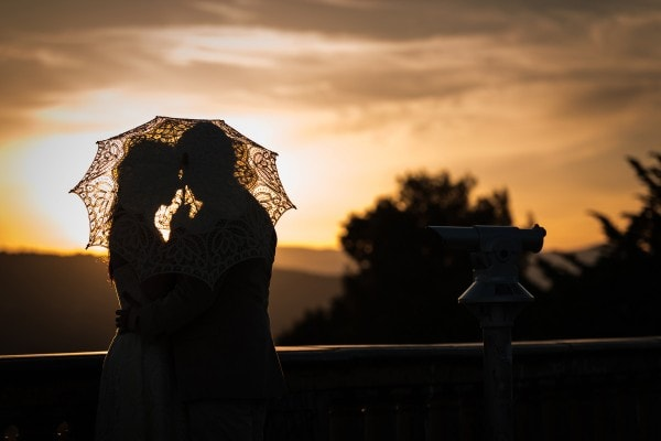 Elizabeth and Diego's Florence Sunrise Engagement