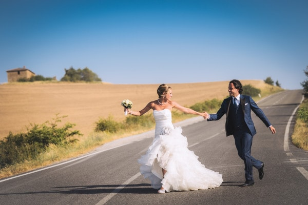 Karin & Massimo's intimate destination wedding