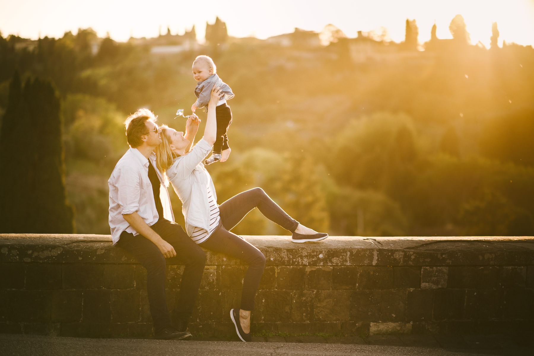 Italian Vacation Family Photographer In Tuscany Near Florence