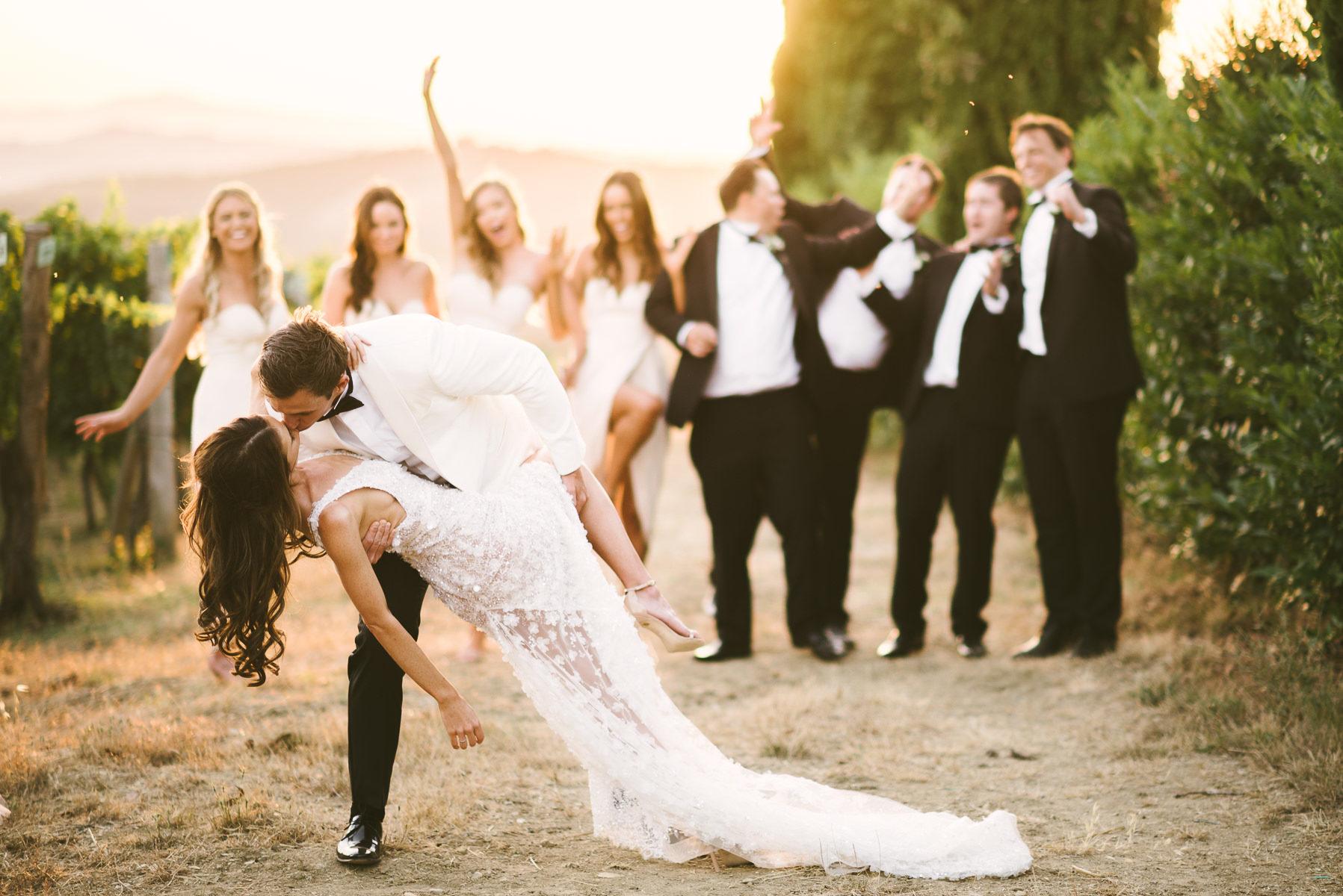 Tuscany countryside destination wedding in Panzano, Chianti at Agriturismo La Valletta