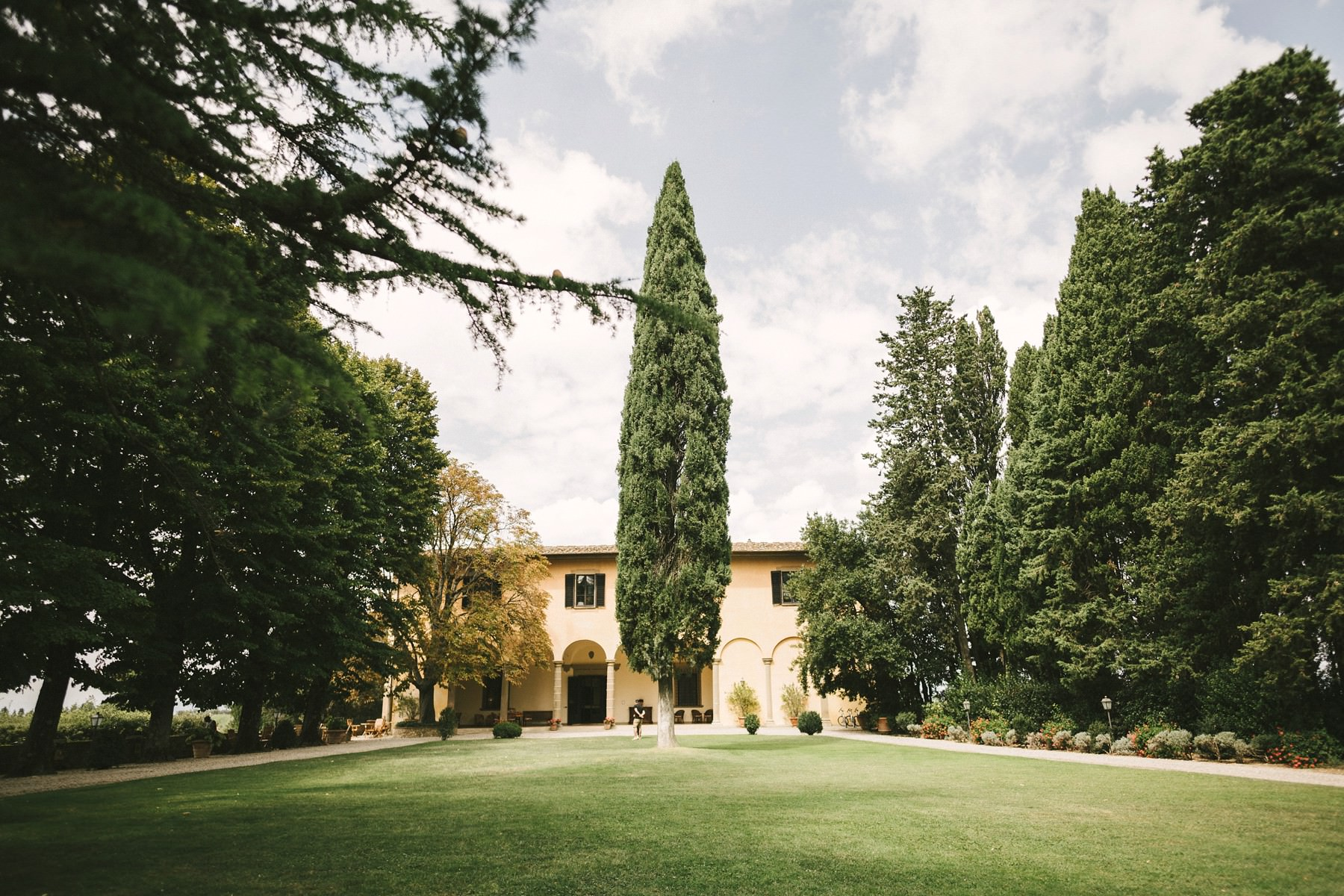 Villa Il Poggiale a perfect wedding venue in Tuscany Chianti area