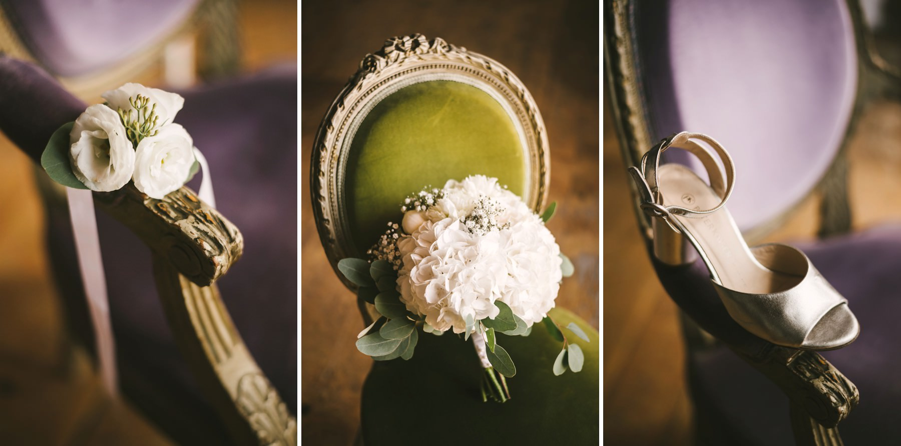 Lovely bride details. Destination wedding in Tuscany at Montelucci Country Resort