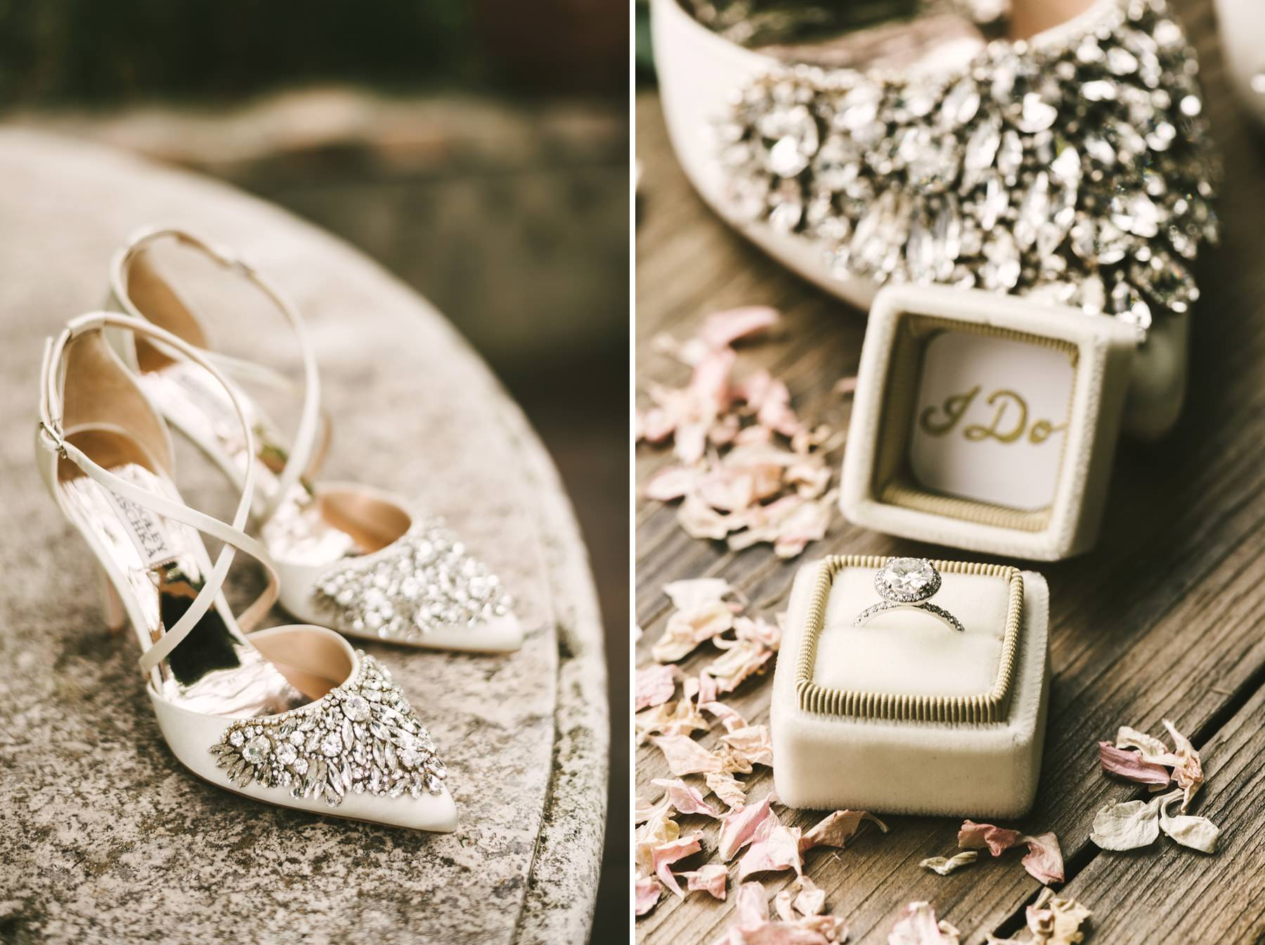 Elegant and lovely bride accessories