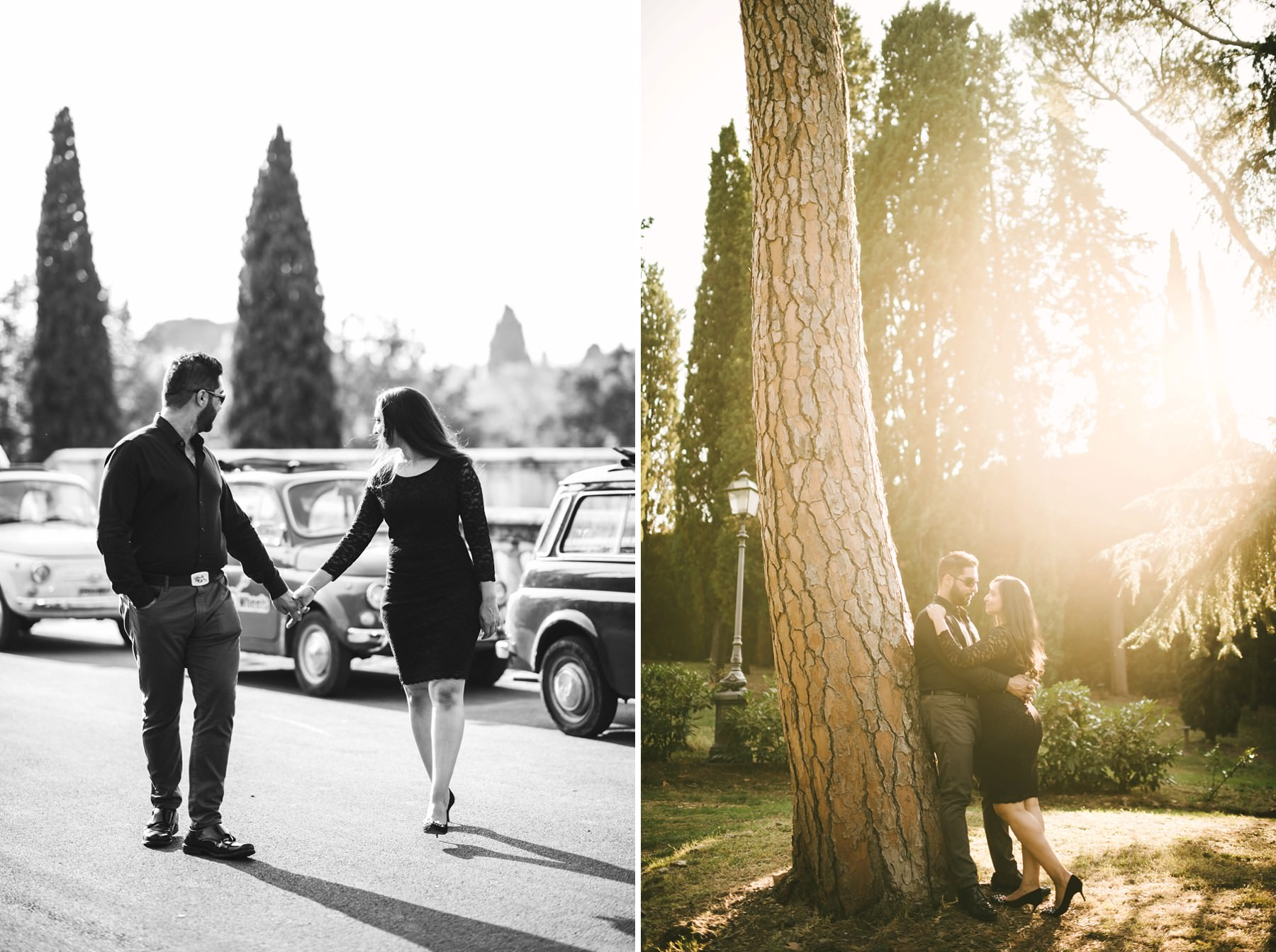 Enjoy the unique experience of a engagement photo shoot in Florence
