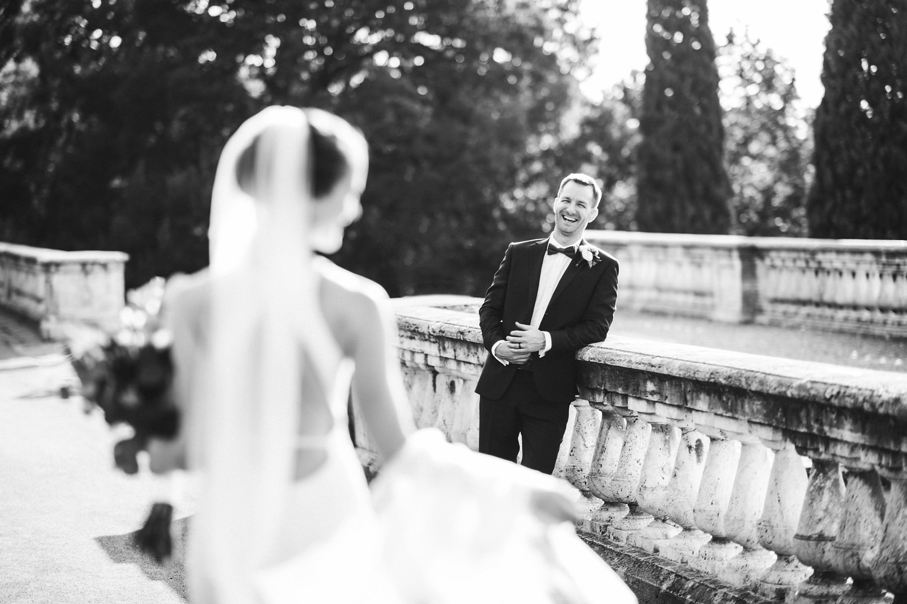 Bride and groom candid shoot in Florence