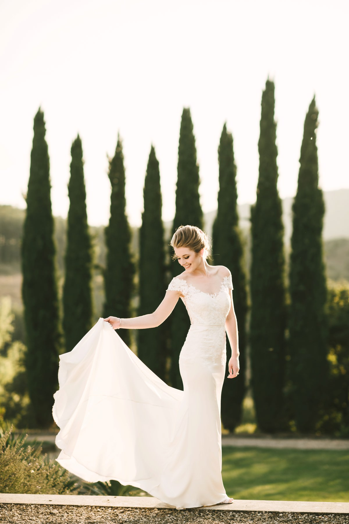 All the elegance and the beauty of bride Shauna in Kelly Faetanini gown and Betsey Johnson shoes