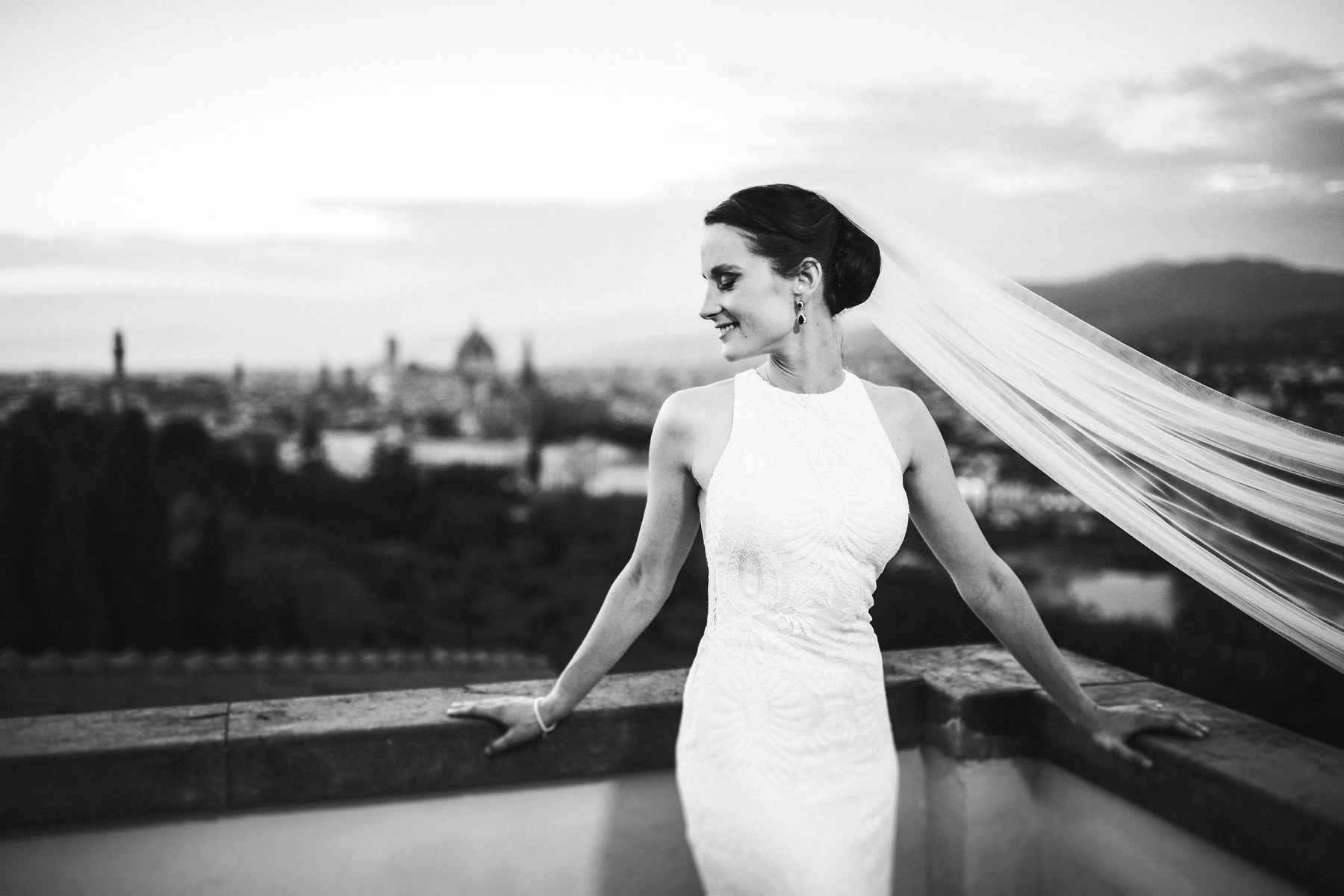 Intimate wedding at Villa La Vedetta in Florence: strong emotions with a view!