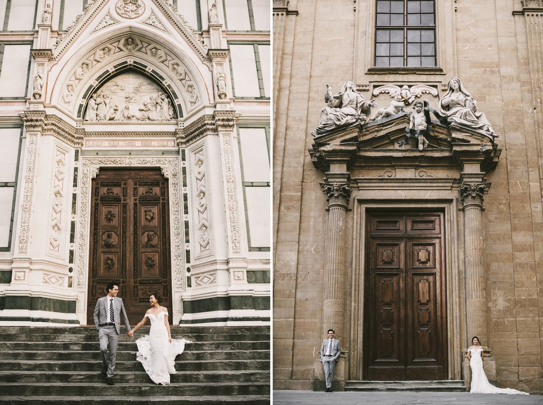 Honeymoon Florence couple photo shoot