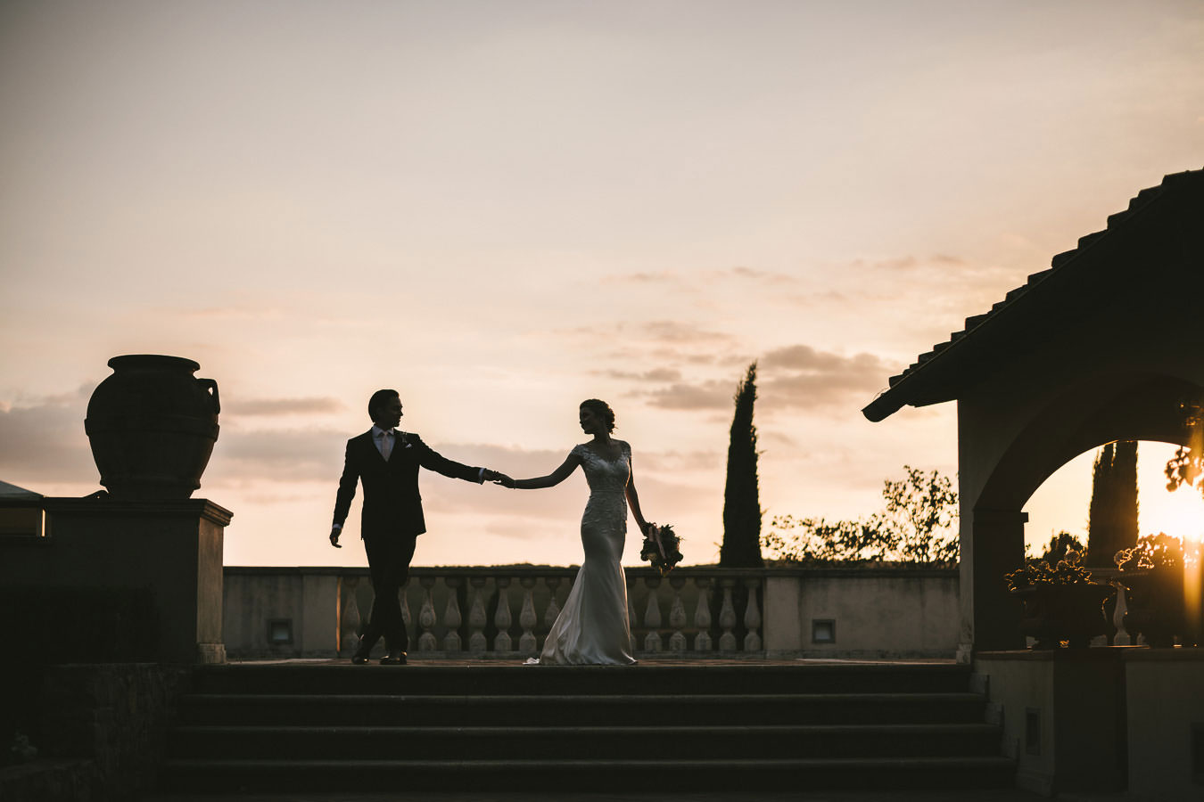 Shauna and Luis's elegant wedding at Villa La Selva Wine Resort