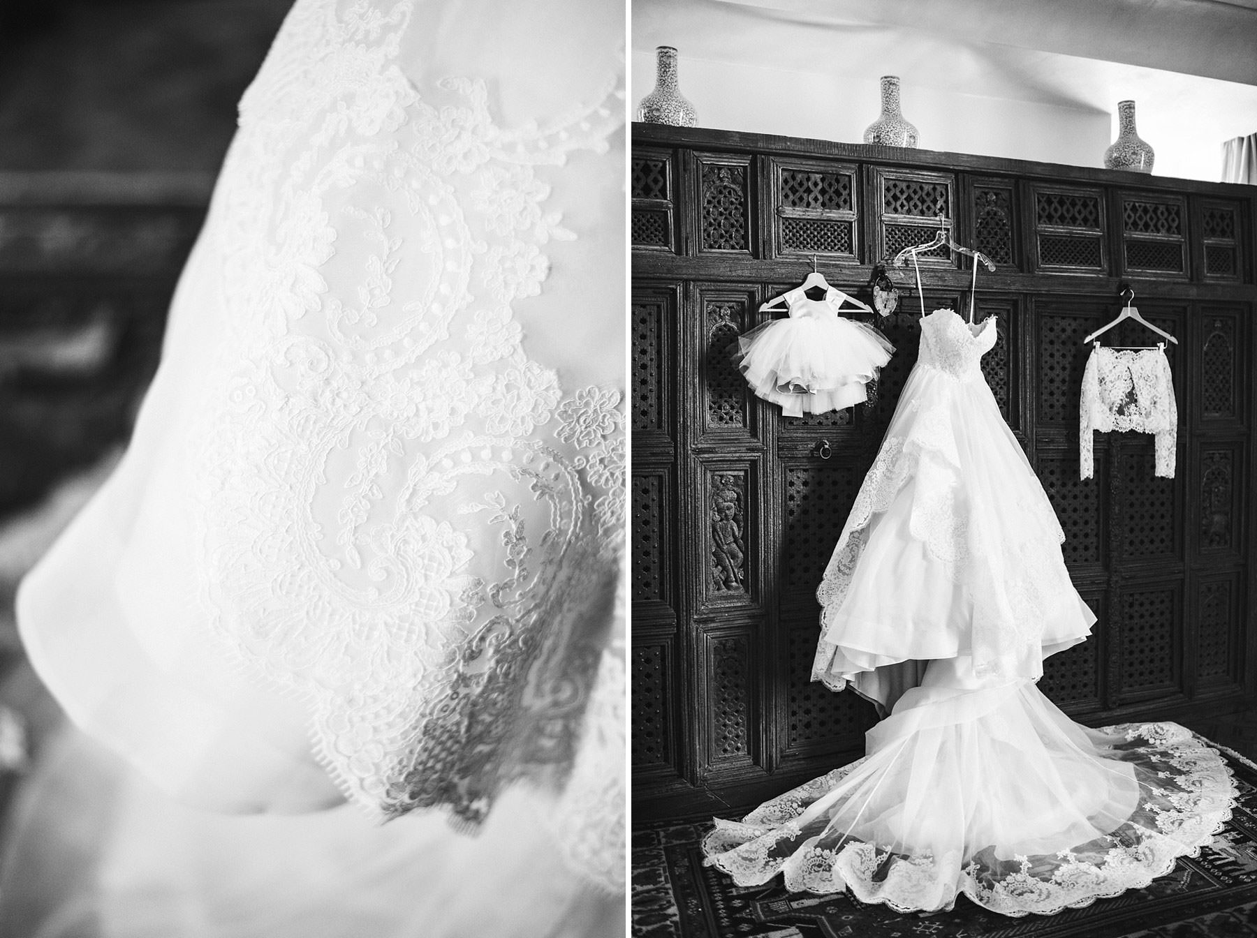 Gorgeous bridal wedding gown by Justin Alexander. Elegant destination wedding in Chianti at Villa Mangiacane