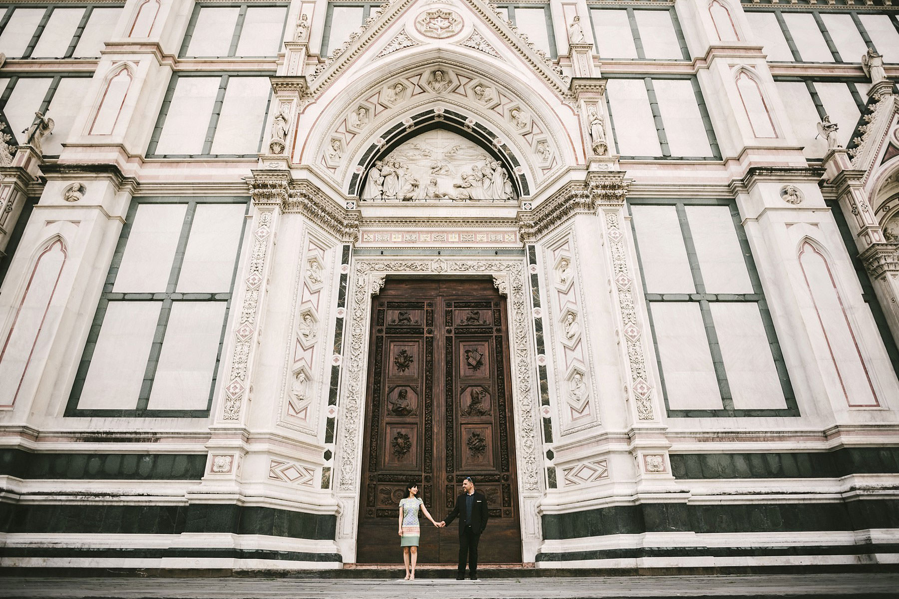 Florence at sunrise time, the best time to take advantage of the beautiful city without the distraction of the tourists
