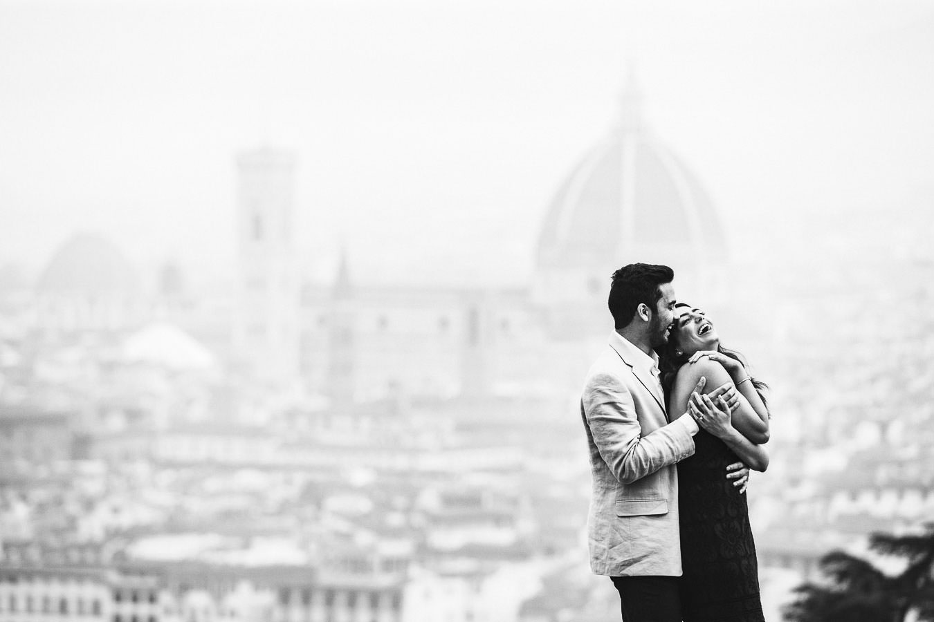 Looking for something unique? Choose the magic of winter engagement photos