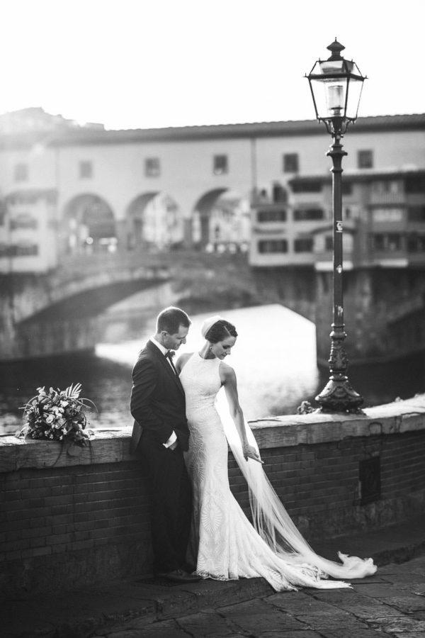 Intimate destination wedding in Florence at Villa La Vedetta