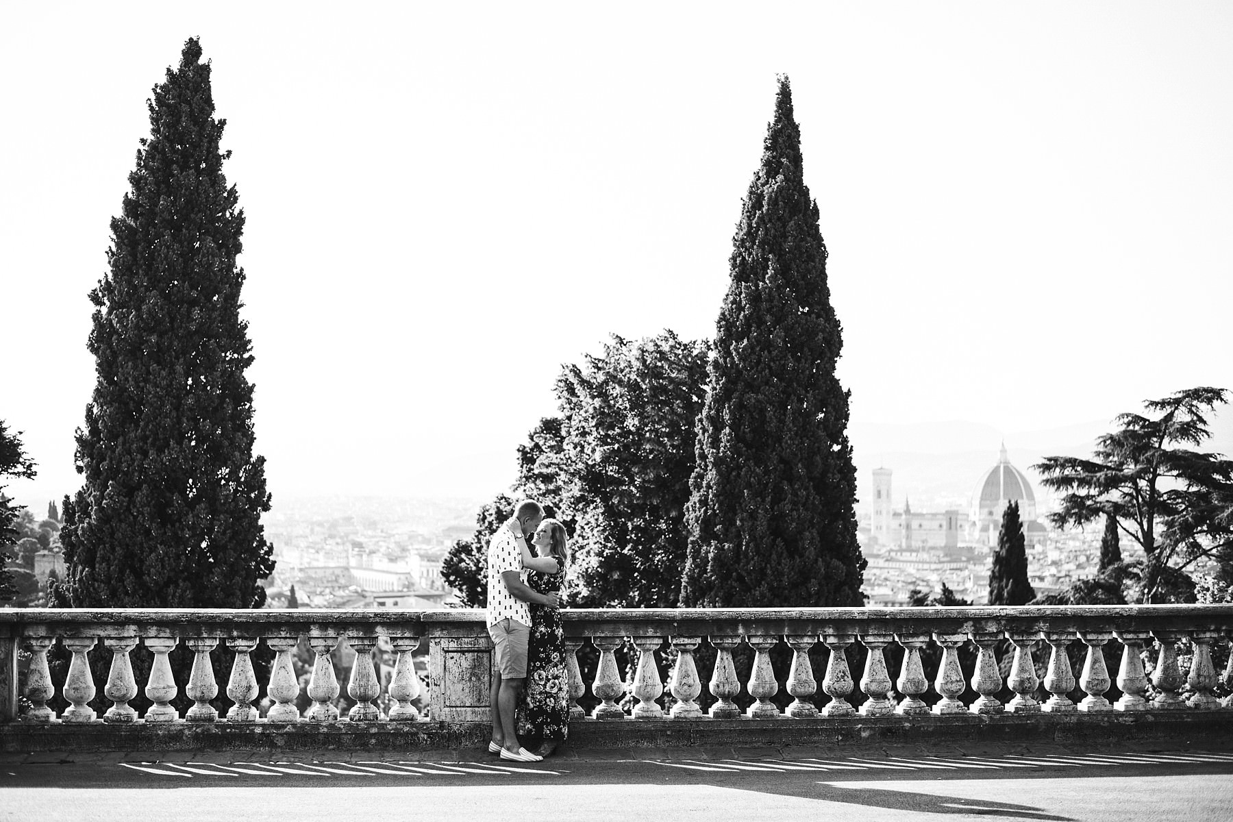 Surprise proposal photos in Florence to commemorate a magic moment