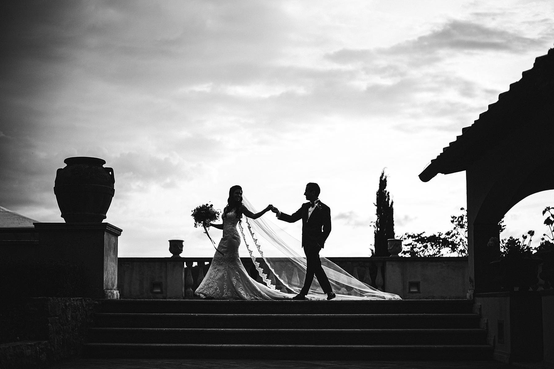 Refined Italy wedding at the exquisite Villa La Selva Wine Resort