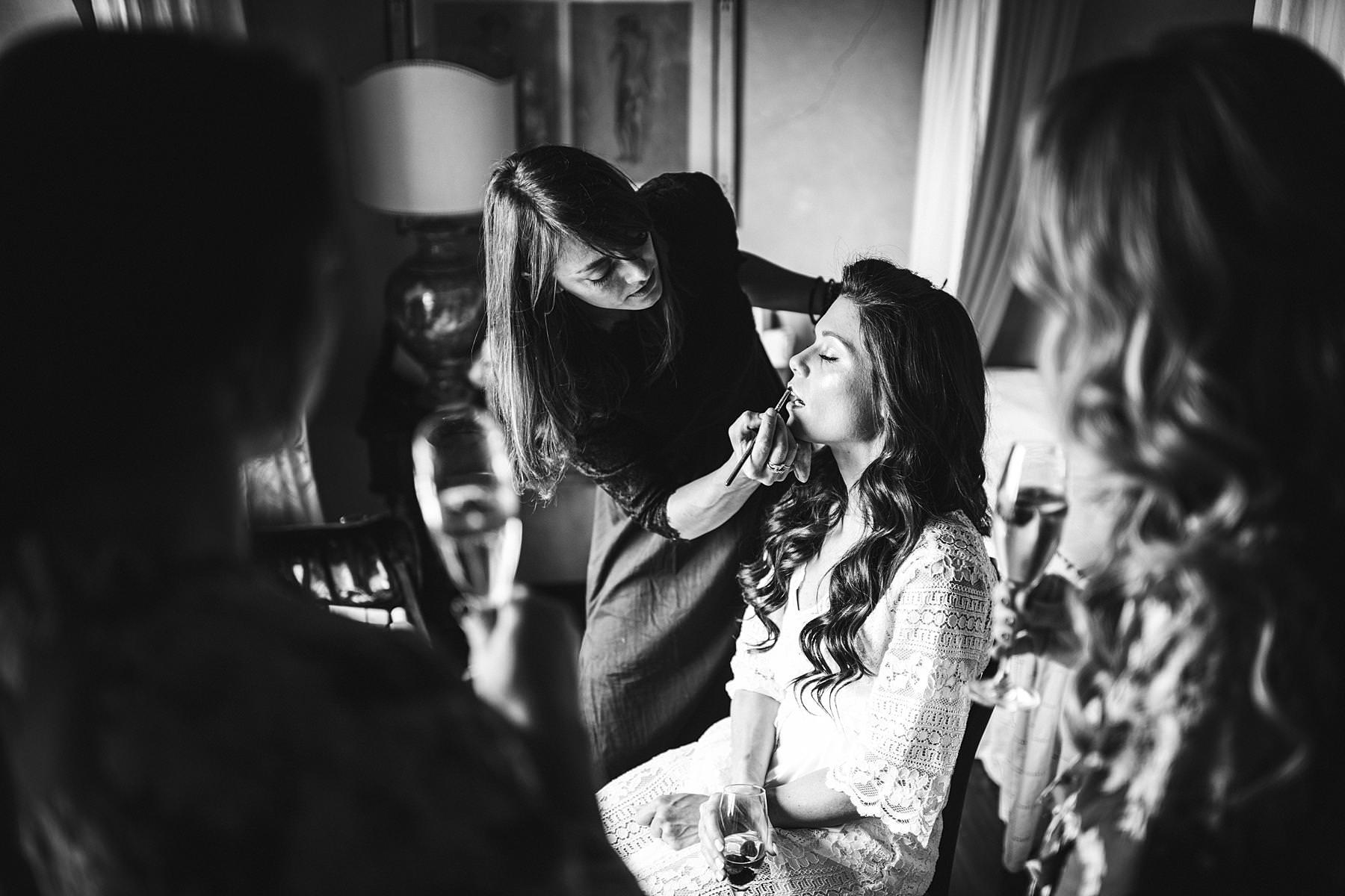Reportage destination wedding photography in Tuscany at Villa La Selva Wine Resort