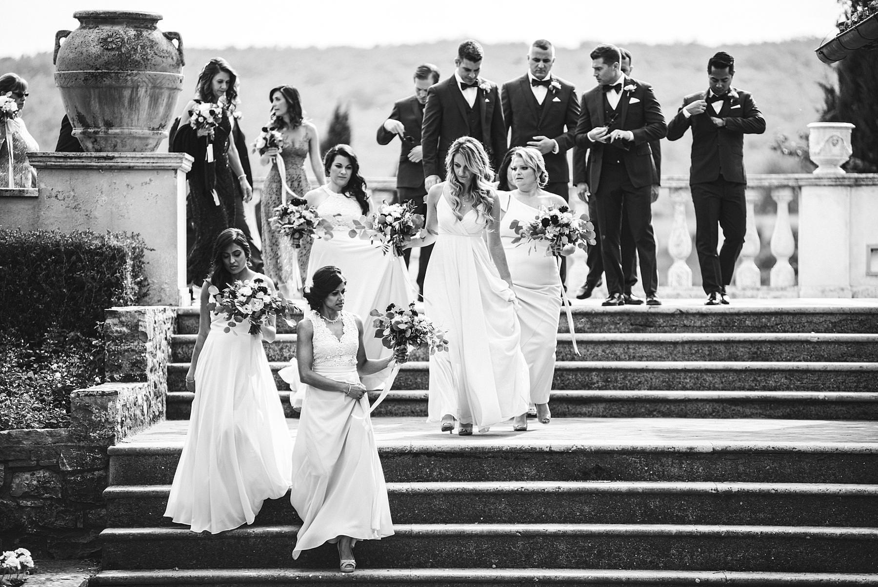 Reportage wedding photography in Tuscany at Villa LA Selva Wine Resort