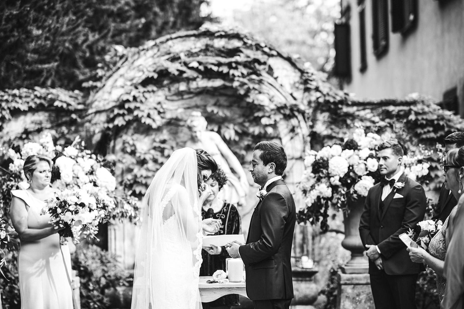 Emotional, elegant and beautiful La Dolce Vita Style destination wedding in Tuscany countryside at the historic estate of Villa La Selva resort