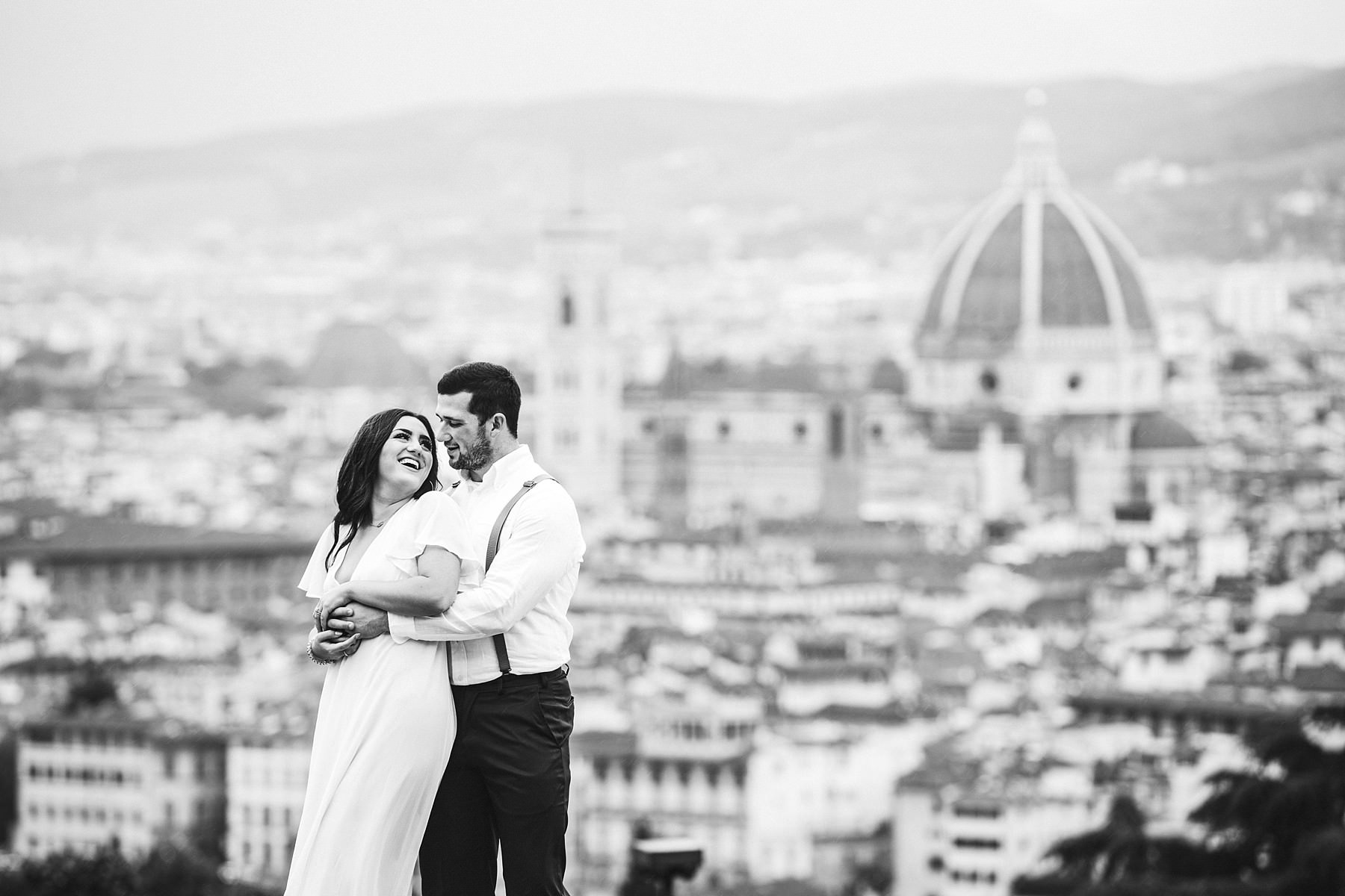 Unforgettable intimate elopement wedding photo session in Florence, Tuscany