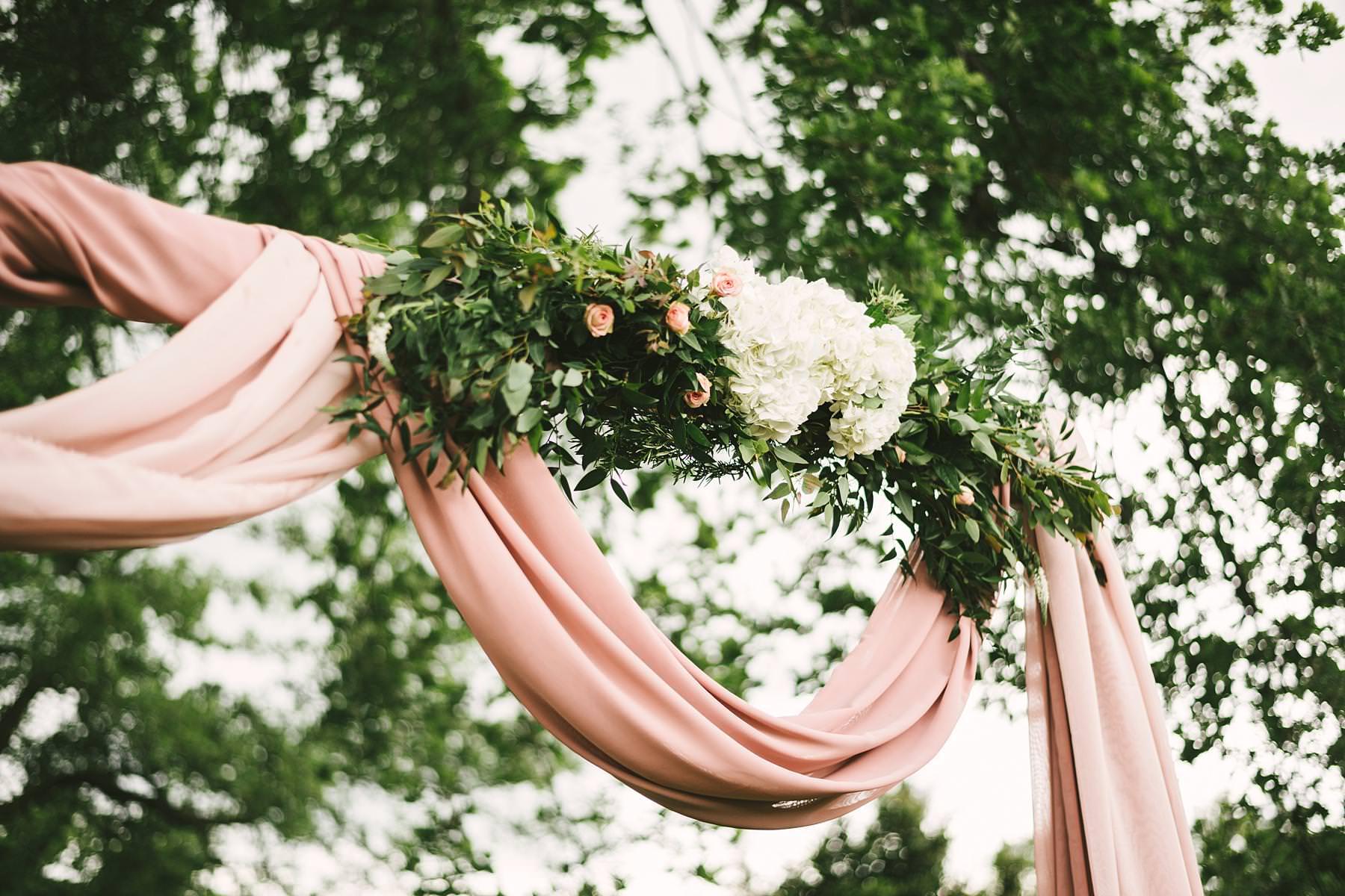 Blissful and intimate destination wedding at Villa Le Bolli, Tuscany. Elegant and beautiful wedding symbolic ceremony decor at Villa Le Bolli venue near Radicondoli