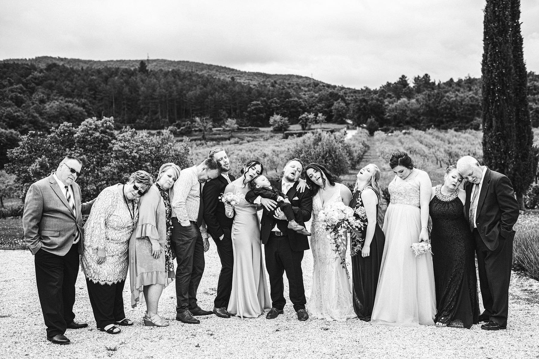 Creative and fun group shoot at Villa Le Bolli in Tuscany countryside near Radicondoli