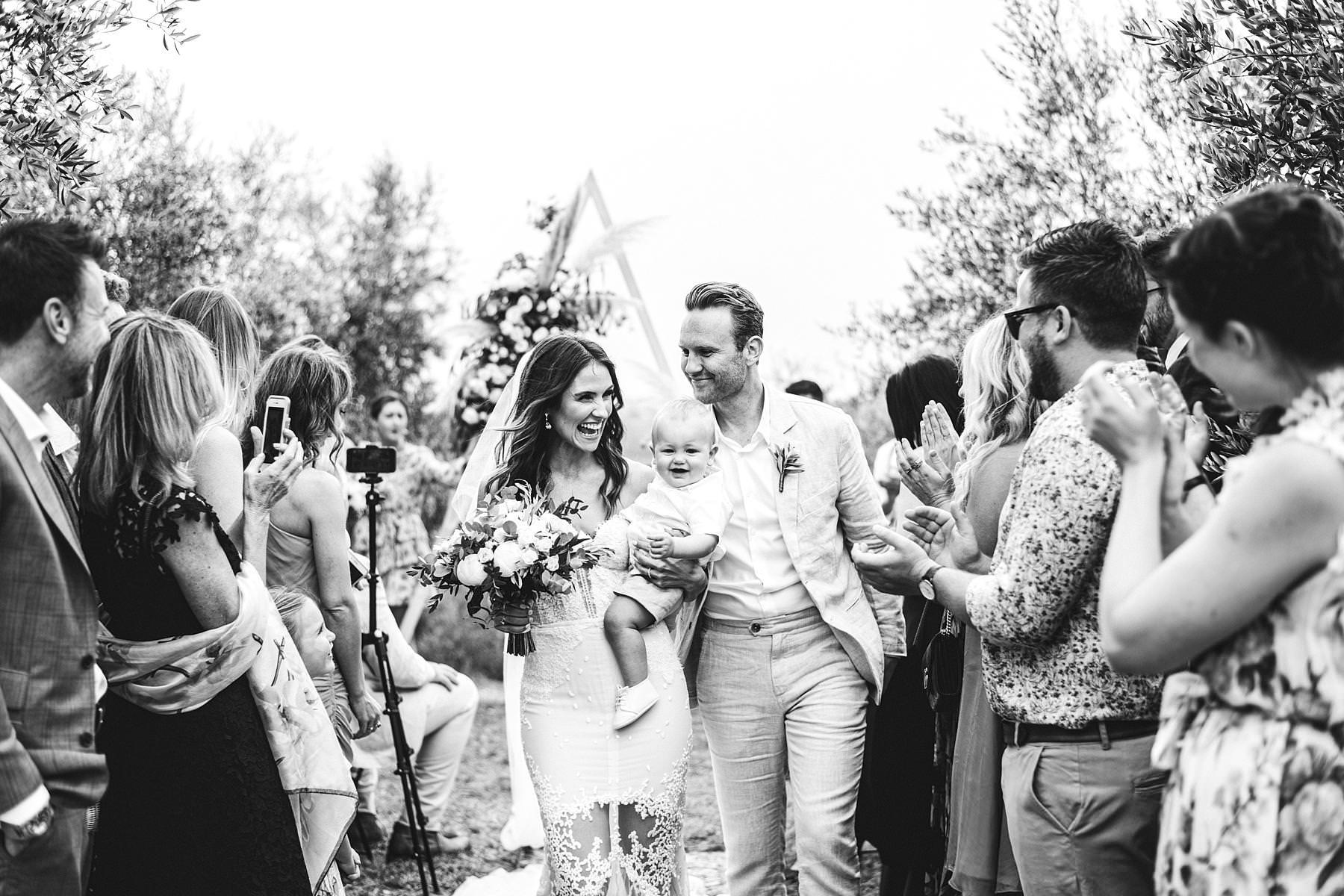 Georgie and Patrick's unusual wedding in Tuscany at Villa Il Poggiale, a stunning venue in the heart of Chianti
