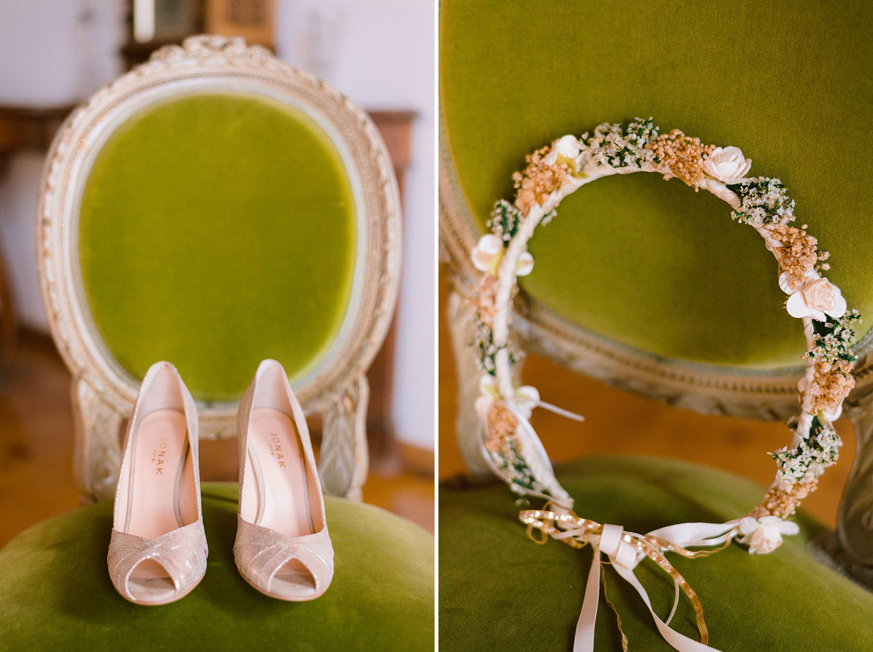 Lovely wedding details at Montelucci Country Resort destination wedding in Tuscany