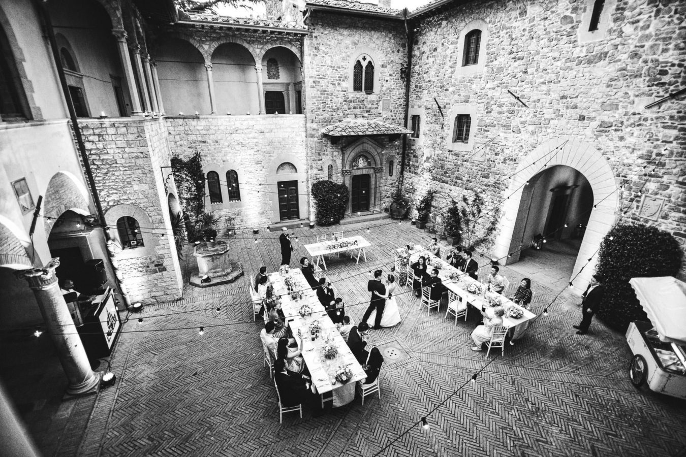 Destination wedding Castello Il Palagio Tuscany countryside San Casciano Chianti