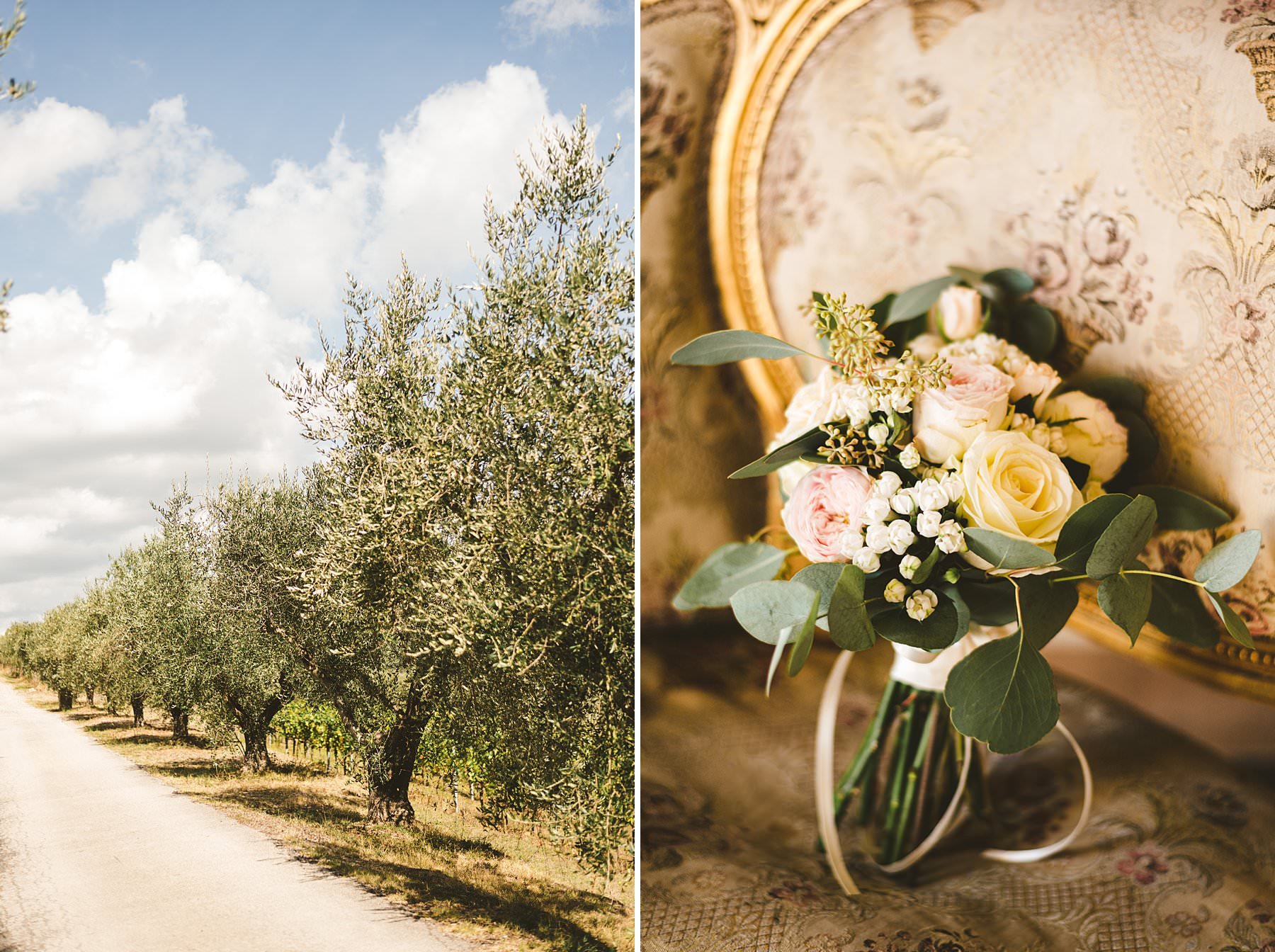 International wedding in Umbria was Relais Villa Monte Solare, a historic residence tucked in the countryside among rolling hills