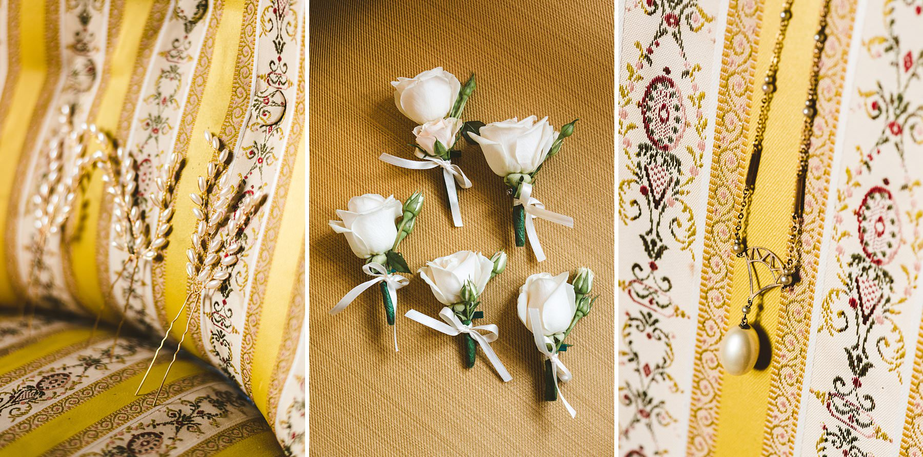 Creative and modern destination wedding photographer in Italy. Australian couple international wedding in Umbria at Villa Monte Solare. Elegant accessories detail shoot during preparation of bride and groom