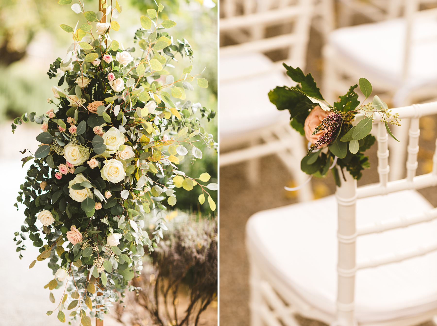 Getting married in the Italian countryside. The chosen location for this international wedding in Umbria was Relais Villa Monte Solare, a historic residence tucked in the countryside among rolling hills. The emotional symbolic ceremony was held in a courtyard close to the villa, surrounded by greenery and decorated with delicate flowers