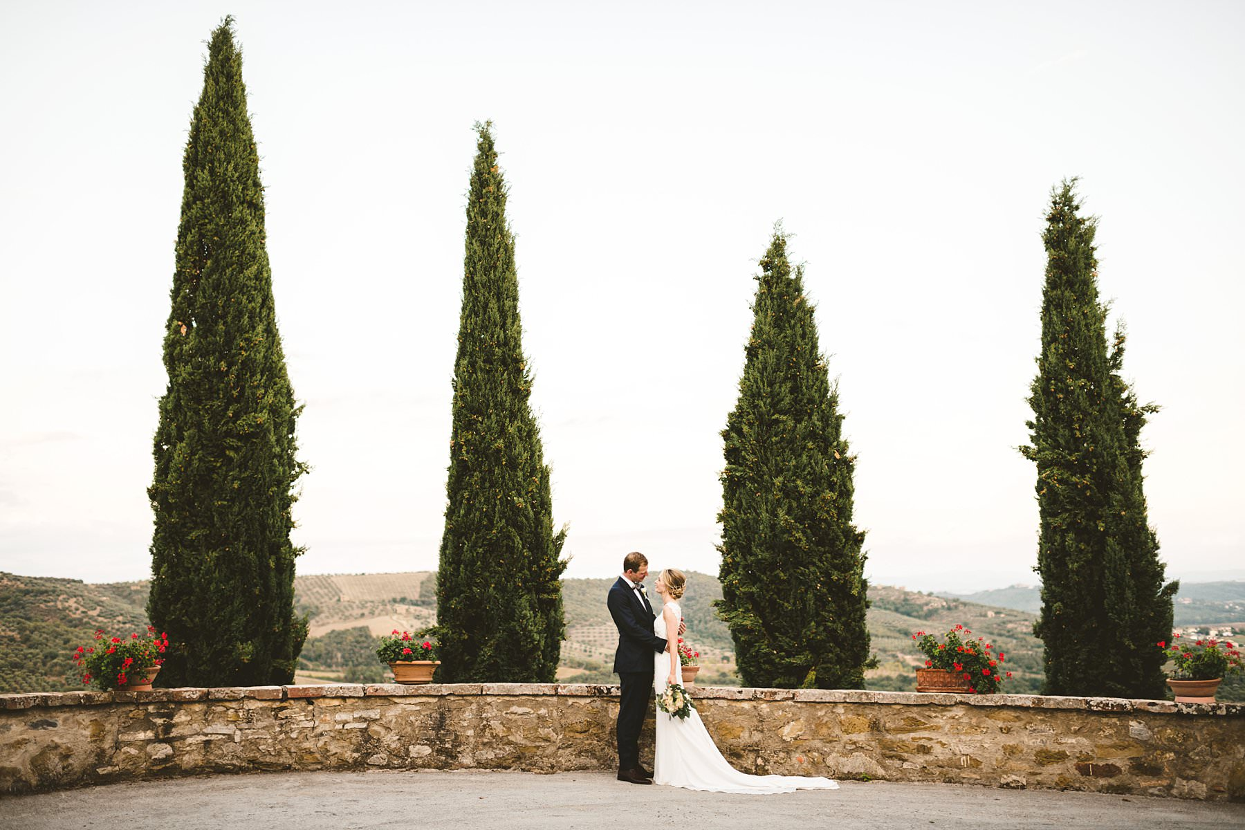 Getting married in the Italian countryside. Beautiful Australian couple got married in the countryside of Umbria at the historic residence Villa Monte Solare