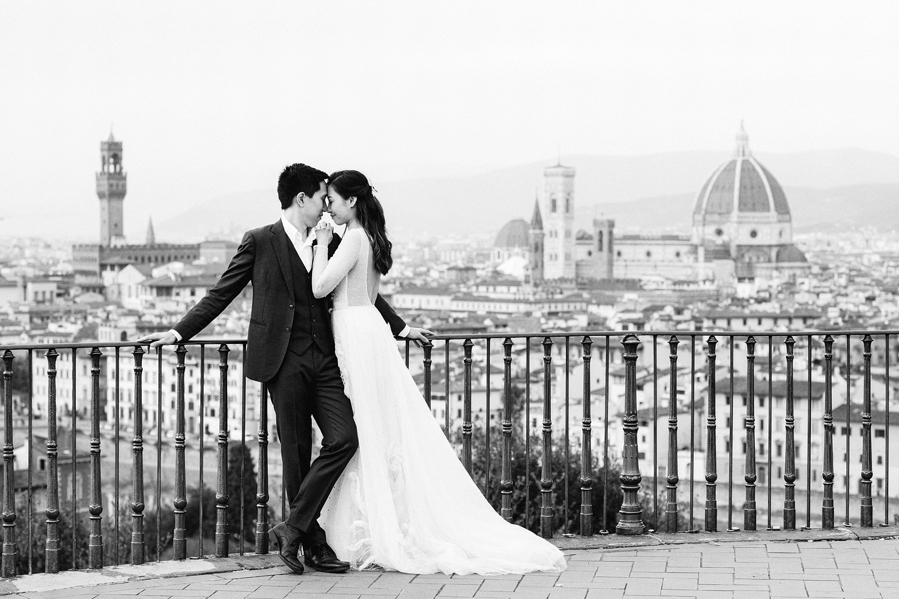 Lovely couple from Hong Kong choses to turn their original pre-wedding photo shoot into the honeymoon during the coronavirus pandemic