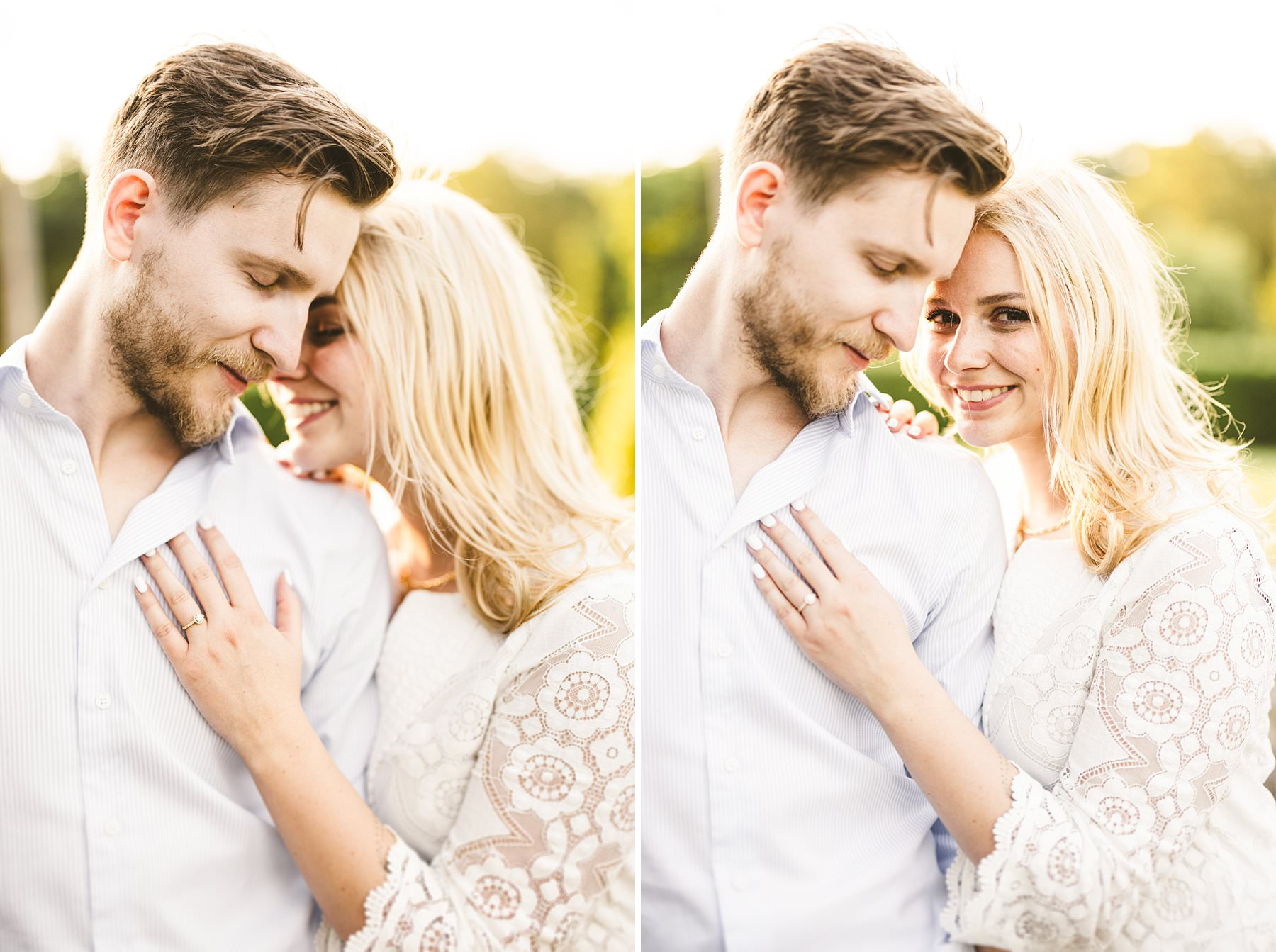 Lovely emotional couple portrait at Poggio Tre Lune a special venue located in the heart of Tuscany near Florence